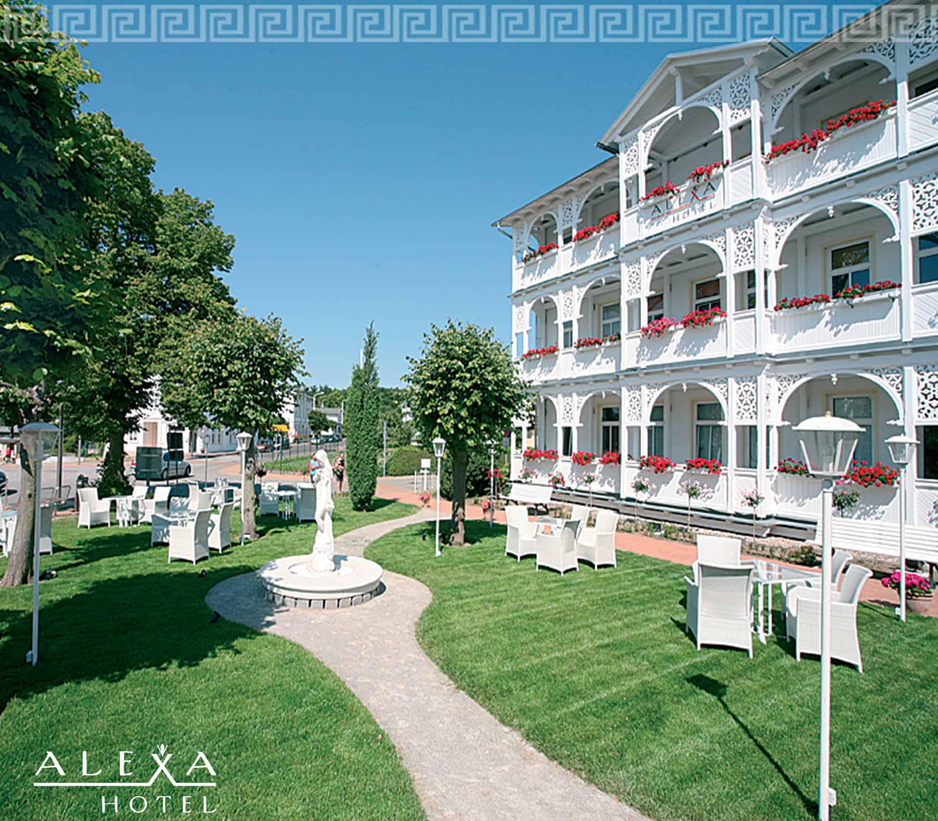 Alexa Hotel Garten
