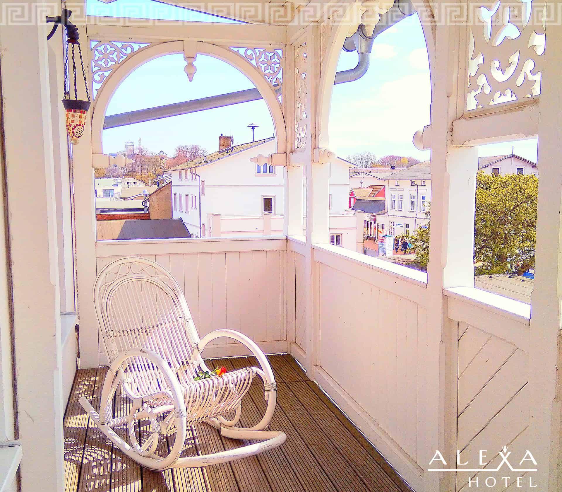 Balkon - Alexa Hotel