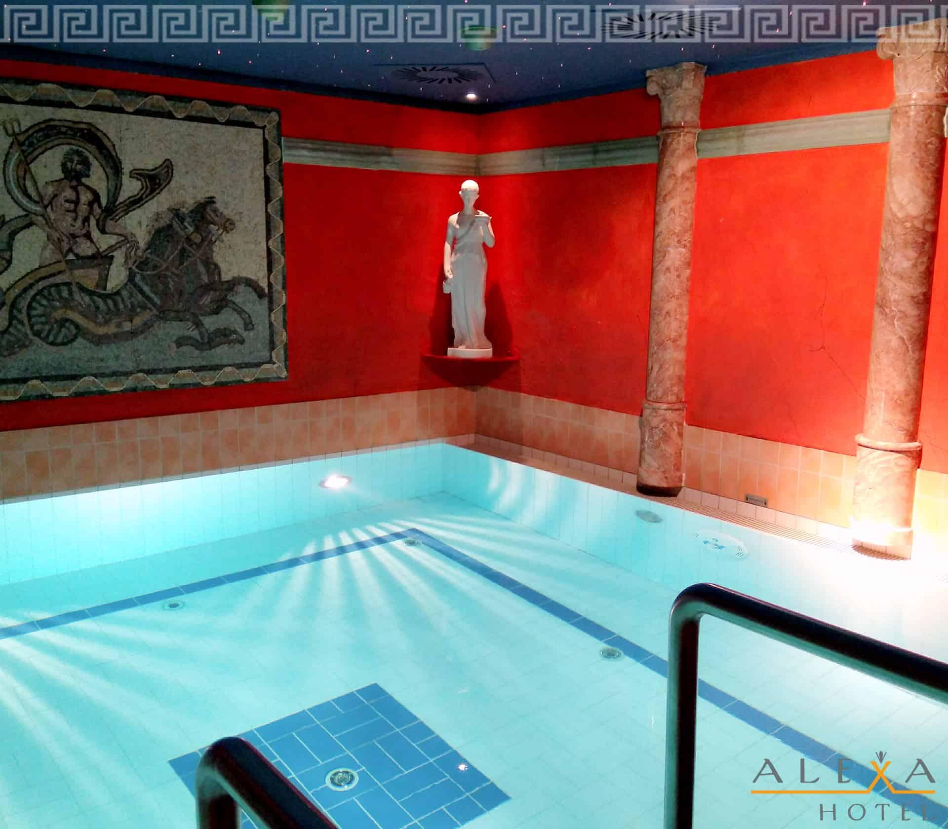 Wellnessbereich Alexa Hotel